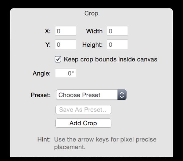 screen crop tool